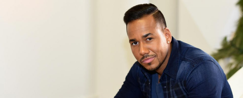 "The King of Bachata, Romeo Santos, poses for photos for the Dr Pepper ""Dare to Discover"" campaign on January 8, 2015 in New York City."